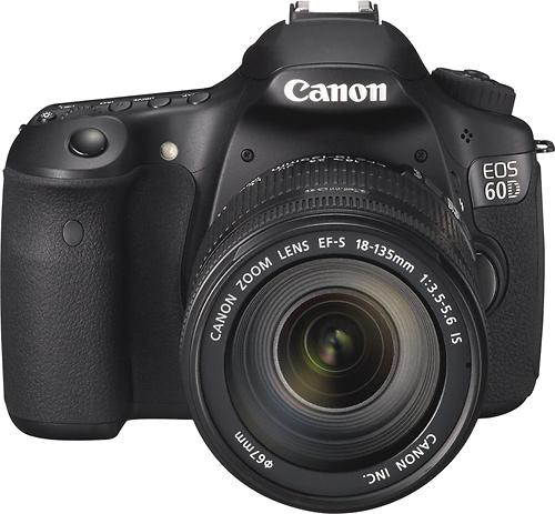 canon d60 com lente grande angular e zoom 18 135mm acess rios para cinema digital fotografia e. Black Bedroom Furniture Sets. Home Design Ideas