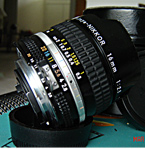 Nikon Nikkor 16mm f/2.8 AI-s 52mm filters raridade sharp images