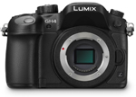 Panasonic Lumix GH 4 Camera Micro 4/3 4:2:2 10-Bit 4K UltraHD