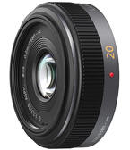Lente Lumix Panasonic 20mm 1.7 grande angular Micro quatro ter�os M4/3 (micro four thirds)